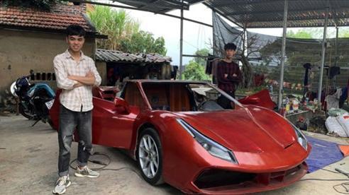 3 thanh niên 0x tại Quảng Ninh chi trăm triệu tự chế Ferrari 488 GTB 'pha-ke'