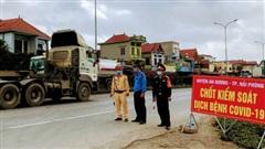Hải Dương xét nghiệm Sars-Cov2 cho tài xế xe tải