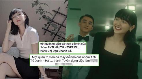 Hàng loạt Group anti-fan Hải Tú đổi tên, làn sóng công kích 'trả xanh' đang dần lụi tàn?