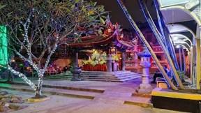 Cầu an online, chùa Phúc Khánh tạo nên cảnh chưa từng thấy