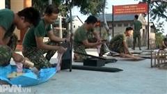Kinh nghiệm tổ chức giao nhận quân an toàn