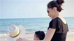 Ông xã doanh nhân tiết lộ khoảnh khắc đẹp của Đặng Thu Thảo bên hai con