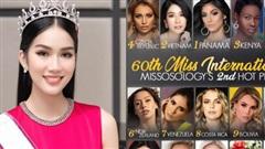 Sau màn nói tiếng Anh như 'bắn rap', Á hậu Phương Anh được Missosology dự đoán vị trí cực cao tại Miss International