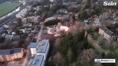 Kích nổ quả bom nặng gần 1 tấn từ Thế chiến 2 giữa khu dân cư