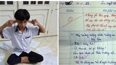 Viết văn tả về trường cũ, cậu học trò có 'IQ vô cực' bị cô giáo bắt chép phạt 50 lần