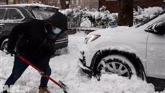 Bão tuyết tồi tệ hoành hành vùng Đông Bắc nước Mỹ