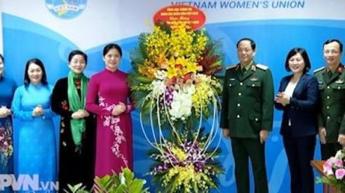 Tổng cục Chính trị chúc mừng cán bộ, hội viên phụ nữ