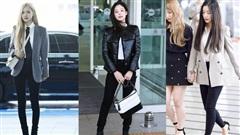 Jennie, Irene cùng loạt mỹ nhân Hàn share bí kip diện quần skinny đen đẹp 'bất bại'