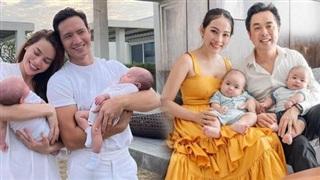 Tiết lộ tên thật của cặp sinh đôi nhà Hồ Ngọc Hà, Đặng Thu Thảo và loạt em bé nhà sao Việt mới chào đời