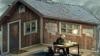 Ông cụ đang ngồi ở trong hay ngoài căn nhà? Câu trả lời cho thấy thứ tự ưu tiên trong đời bạn