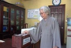 Tăng ni, Phật tử TP HCM đóng góp mua vắc-xin Covid-19