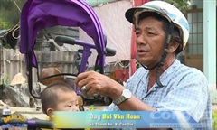 Lòng tốt của chú xe ôm ở huyện đảo nghèo