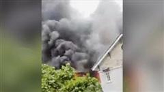 Cháy nhà hàng BBQ ở phường Thủ Thiêm, TP Thủ Đức