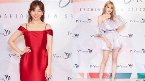 Thiều Bảo Trâm 'chặt đẹp' Hari Won cùng dàn khách mời với visual đỉnh cao ở show thời trang
