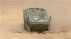 Hé lộ xe bọc thép cứu thương mới của quân đội Trung Quốc