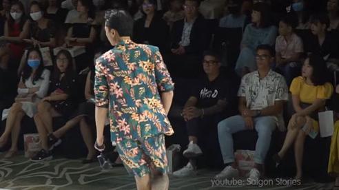 Bùi Tiến Dũng bảnh bao xuất hiện tại show diễn thời trang khi liên tục không được thi đấu