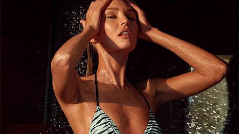 'Thiên thần nội y' Candice Swanepoel đốt cháy ánh nhìn với đồ tắm