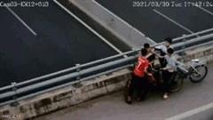 Bốn học sinh ném đá vỡ kính ôtô trên cao tốc Hà Nội – Hải Phòng