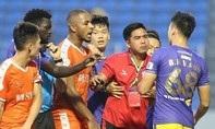 Clip pha đá ác ý của cầu thủ Hà Nội với cầu thủ Đà Nẵng