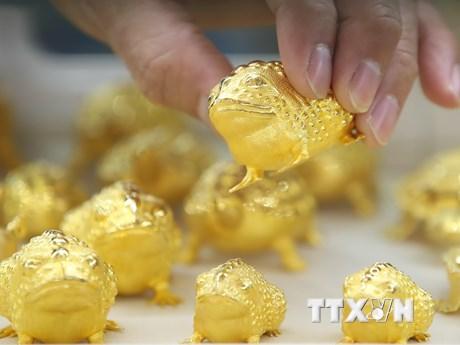 Giá vàng thế giới chạm mức cao nhất trong hơn một tuần