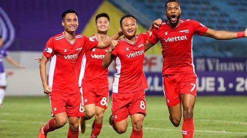 [Chùm ảnh] Đánh bại đối thủ cùng thành phố, Viettel đẩy Hà Nội FC rời xa top dẫn đầu