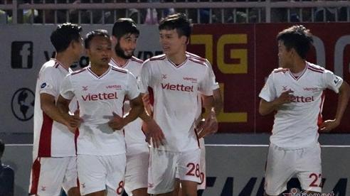 Video bàn thắng Bình Định 0-1 Viettel