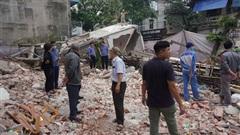 Tìm ra nguyên nhân vụ sập nhà 3 tầng ở Lào Cai