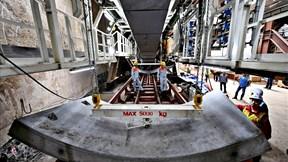 Robot 'Táo bạo' đường sắt Nhổn – Ga HN chạy thử nghiệm