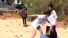 Nhóm học sinh nữ cấp 2 ở Lâm Đồng kéo ra nghĩa trang đánh dằn mặt nhau