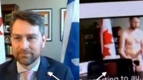 Nghị sĩ Canada quên tắt camera, khỏa thân đi lại giữa buổi họp quốc hội trực tuyến