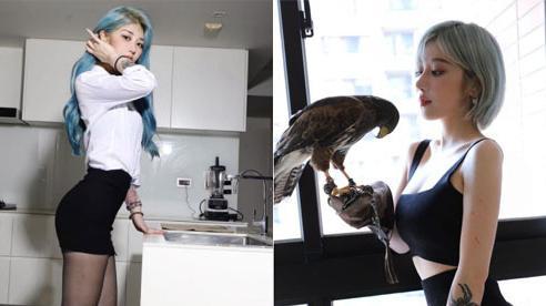 CĐM phát sốt vì 'Thần Điêu Đại Hiệp' bản nữ, đã quyến rũ lại còn có kỹ năng 'huấn luyện chim' cực đỉnh