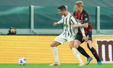 """Clip Milan thắng Juventus 3-0, """"bà đầm già"""" văng khỏi top 4 Serie A"""