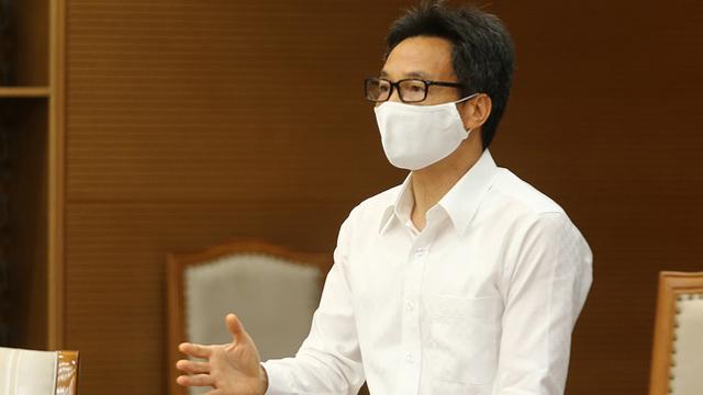 Phó Thủ tướng Vũ Đức Đam giải thích vì sao TP Hà Nội không giãn cách xã hội