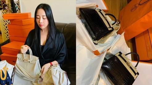 Hot mom nhiều túi Hermès hơn cả Ngọc Trinh hé lộ gia tài túi hơn 30 tỷ, nhiều mẫu hot hit chưa chắc có tiền đã mua được