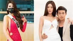 Độc quyền stylist hé lộ về chi tiết được may bên trong bộ đầm xẻ cao tận hông của Khánh Vân
