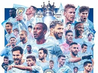 Dàn sao Manchester City ăn mừng chức vô địch qua mạng xã hội
