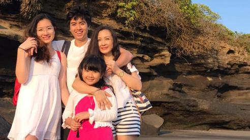 Diễn viên Khánh Huyền và hôn nhân thứ 2: 'Ông xã rất quý và chăm bé như cha đẻ'