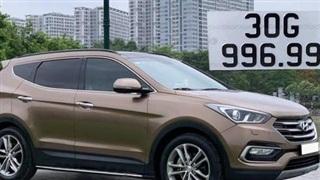 Bốc được biển '996.99' nhưng 'vợ muốn bán', chủ nhân Hyundai Santa Fe 2017 đành rao xe 'lộc' giá 1,1 tỷ đồng