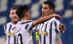 Ronaldo lập công, Juventus thắng Sassuolo 3-1