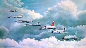 """Điểm danh loạt chiến cơ """"thảm họa"""" của Không quân Mỹ"""