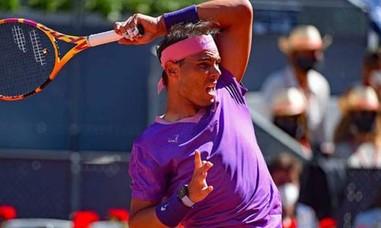 Chiến thắng trước Zverev, Nadal vào bán kết Rome Mở rộng