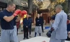 Clip nhà sư Thiếu Lâm hạ gục võ sĩ MMA người Mỹ nhanh chóng