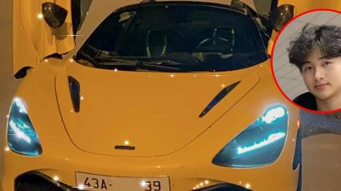 McLaren 720S Spider màu độc của rich kid 16 tuổi Đà Nẵng được bố tặng sinh nhật chính thức có biển số