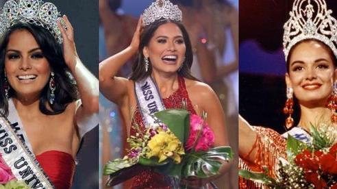 Rùng mình 'điềm báo đăng quang': 3 đời Hoa hậu Mexico chiến thắng vương miện Miss Universe đều mặc váy có chi tiết này