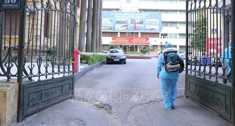 Phát hiện ca nghi mắc COVID-19, nhân viên Bộ GTVT không được rời trụ sở