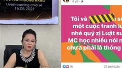 Không còn 'đấu' trong nước, bà Phương Hằng nay trịnh trọng nhắc đích danh MC nổi tiếng tại hải ngoại một cách gay gắt: 'MC học nhiều nói nhiều chưa phải là thông minh'