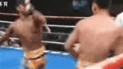 'Đệ tử Lý Tiểu Long' gục ngã sau đòn lên gối hiểm hóc của cao thủ Muay Thái