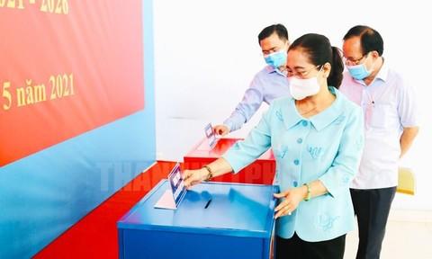 Ngày 23/5, hơn 5,5 triệu cử tri TPHCM tham gia bầu cử ĐBQH và HĐND các cấp