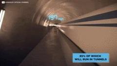 Sức mạnh thần tốc của đoàn tàu nhanh nhất thế giới giá 100 tỷ USD
