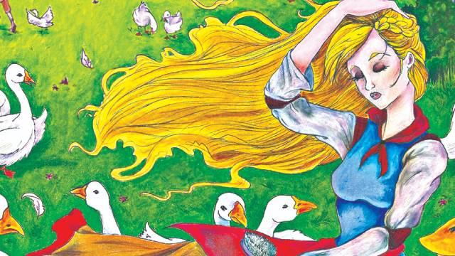 Truyện cổ tích: Cô gái chăn ngỗng bên suối